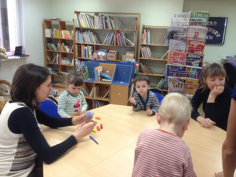 english for kids in Moscow
