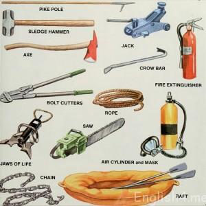 fire fighting tools