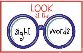 sight words teaching to read