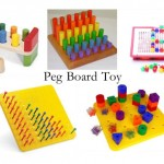 Peg Board Toys Variations